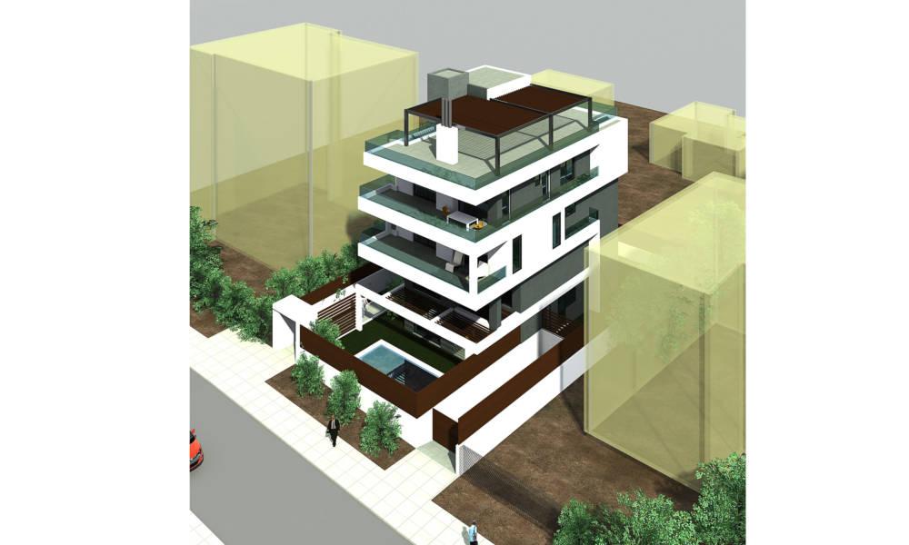3 11 - Voula Apartmanı, Atina