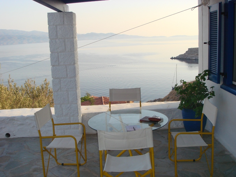 31 - House with an Amazing View in Hydra Island