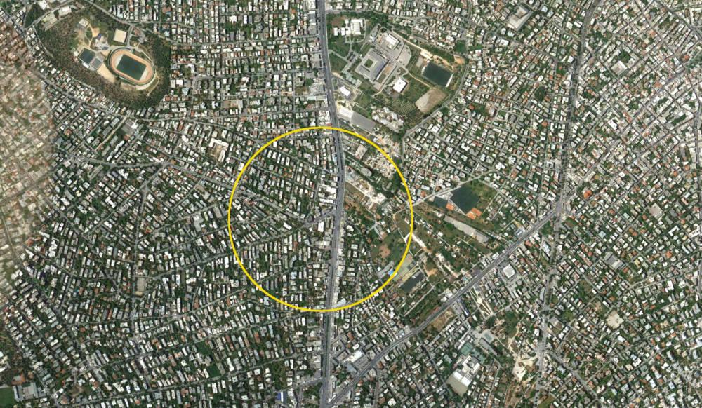 Agia Paraskevi map - Messogeion Ave (Agia Paraskevi)'ye Yakın Tamamı Satılık Bina