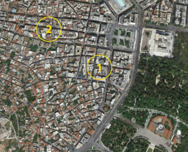 Athens Center 1 2 map 370x300 - Syntagma Meydanı'na Yakın Kiracılı 54m2 Dükkan