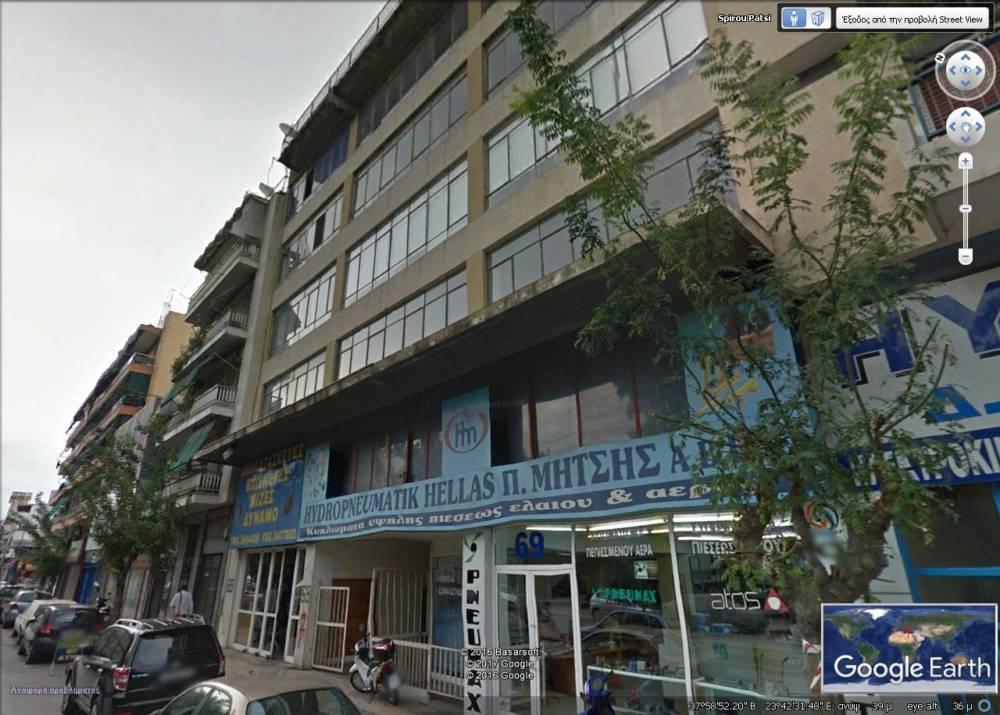 GoogleEarth Image 2 1 - ATİNA, Votanikos (Botanik Park)'da 6 katlı renove edilecek, yatırımlık bina
