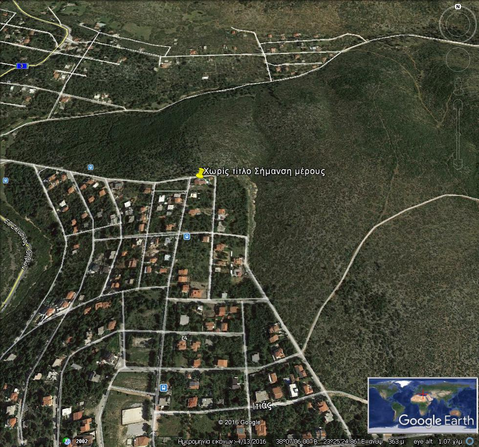 GoogleEarth Image 4 - Agia Sotira Villa