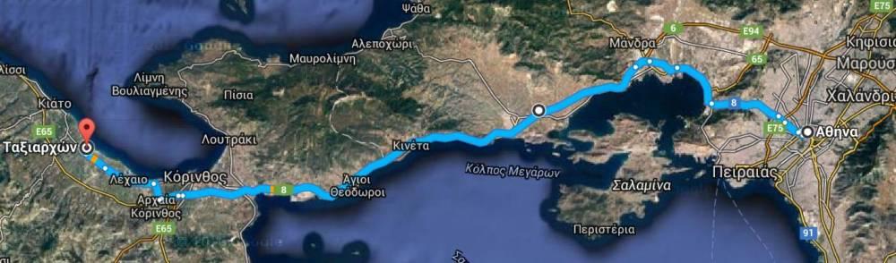 MAPS KOKONI - Kokoni, Peloponesse'de Müstakil Ev