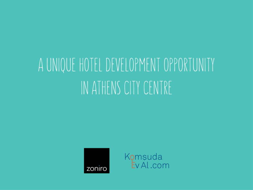 Museum Hotel Development 01 - Atina Merkez'de Benzersiz İzni Alınmış Otel Projesi