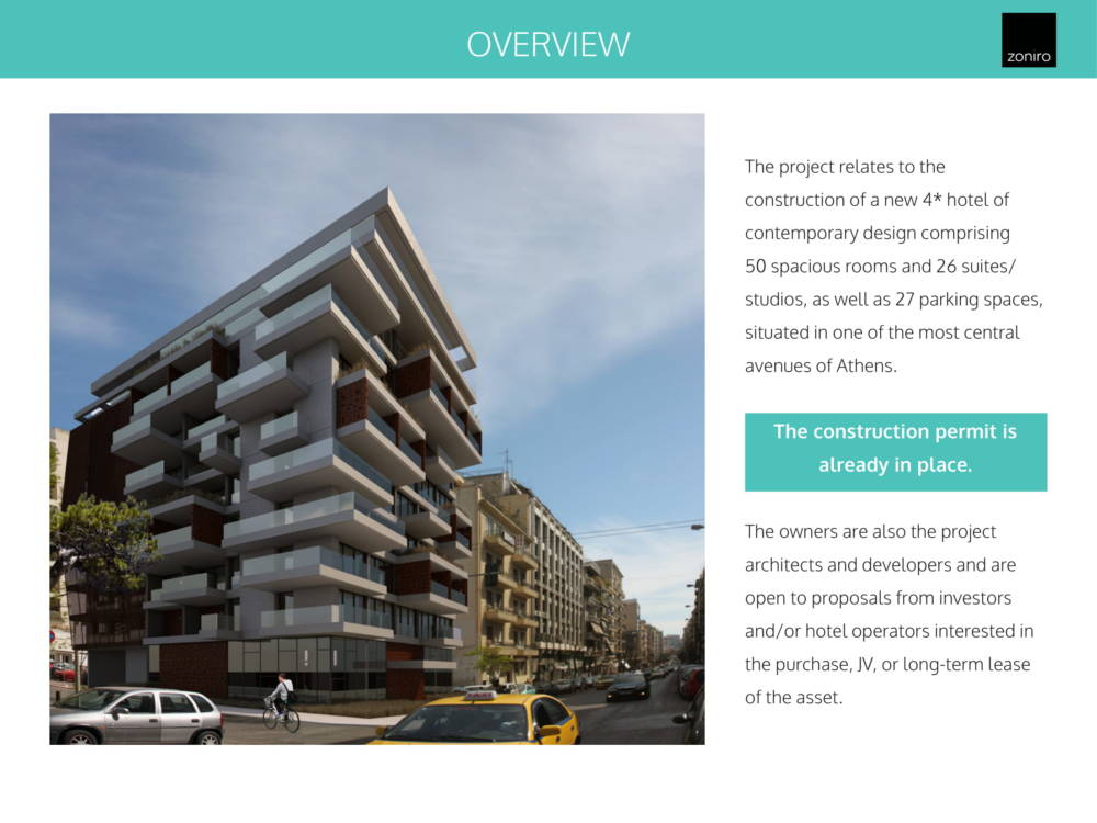 Museum Hotel Development 02 - Atina Merkez'de Benzersiz İzni Alınmış Otel Projesi