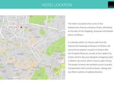 Museum Hotel Development 03 370x300 - Atina Merkez'de Benzersiz İzni Alınmış Otel Projesi