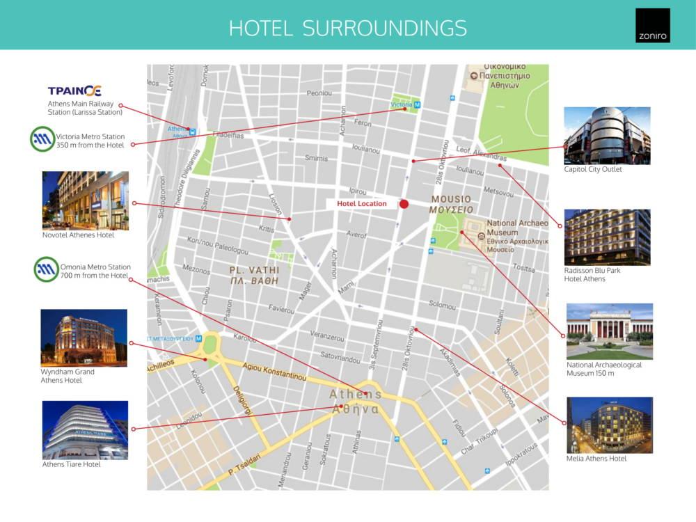 Museum Hotel Development 04 - Atina Merkez'de Benzersiz İzni Alınmış Otel Projesi