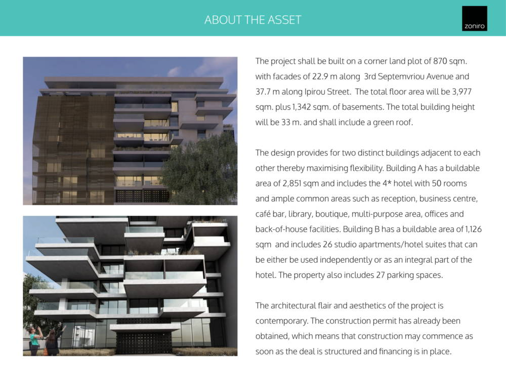 Museum Hotel Development 08 - Atina Merkez'de Benzersiz İzni Alınmış Otel Projesi