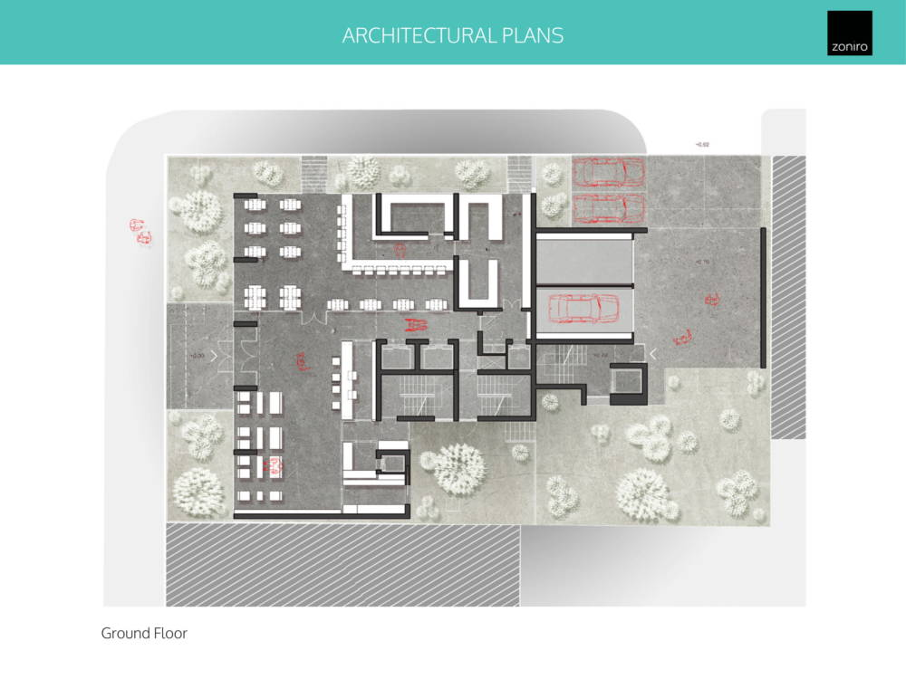 Museum Hotel Development 09 - Atina Merkez'de Benzersiz İzni Alınmış Otel Projesi