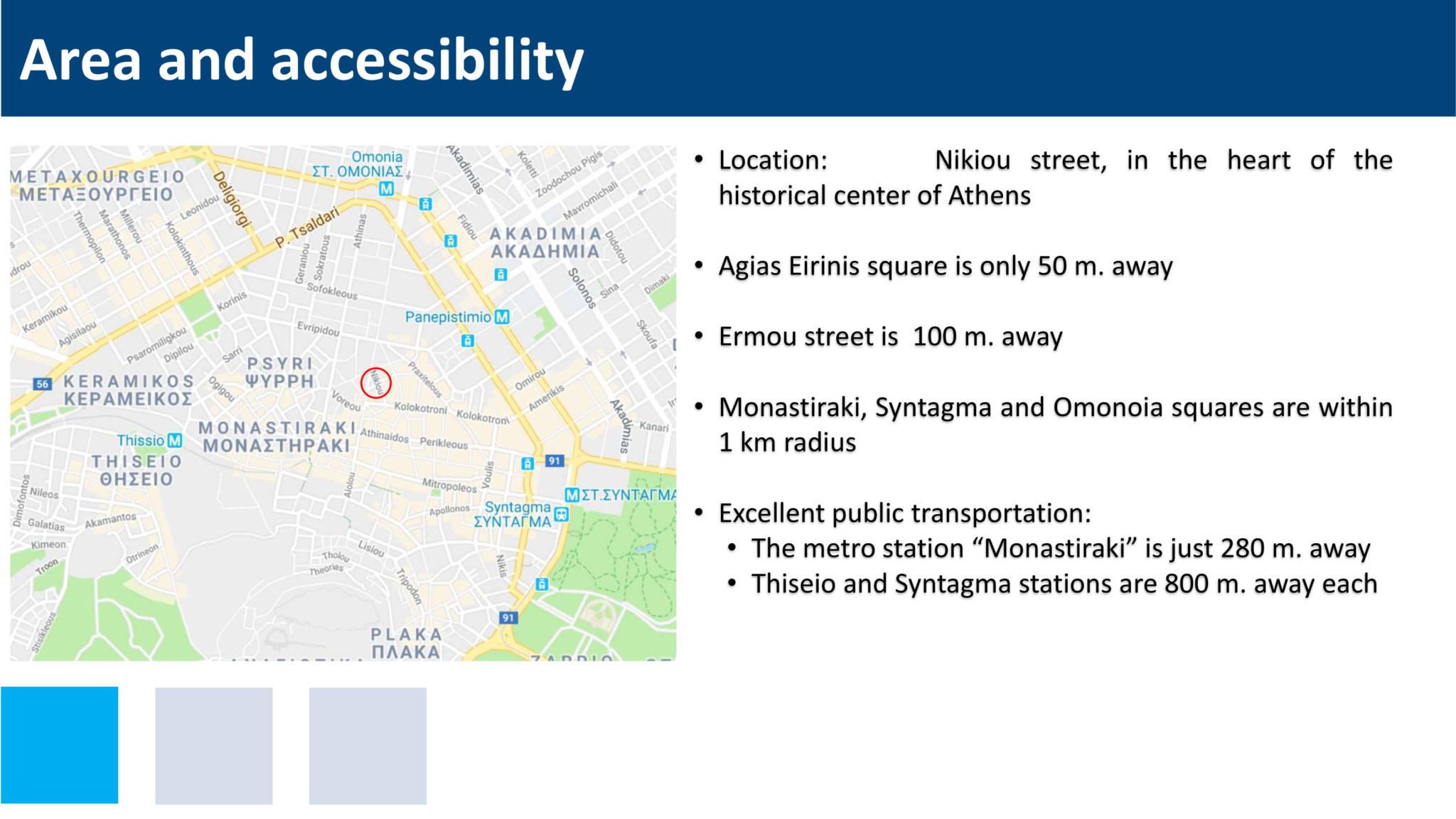 Nikiou presentation 3 - Atina Merkez'de 1.808 m2 6 Katlı Bitişik Satılık 2 Bina
