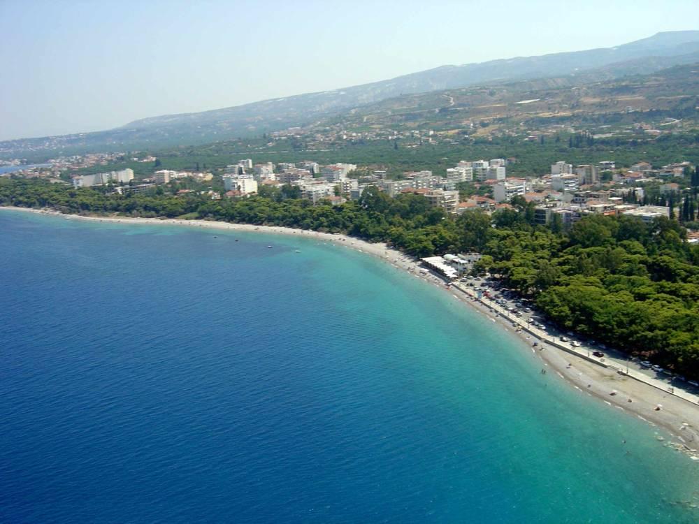 XYLOKASTRO 1 - Xylokastro'da Deniz ve Dağ Manzaralı Villa