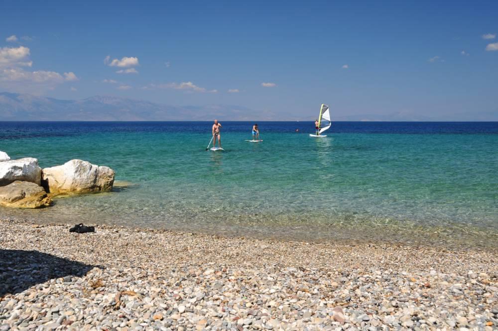 XYLOKASTRO 5 - Xylokastro'da Deniz ve Dağ Manzaralı Villa