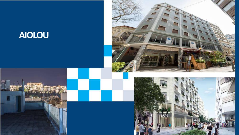 aiolou 1 - Atina Merkez'de 1433 m2 7 Katlı Satılık Bina