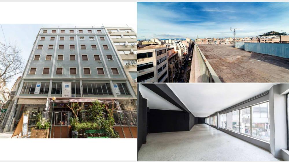 aiolou 2 - Atina Merkez'de 1433 m2 7 Katlı Satılık Bina