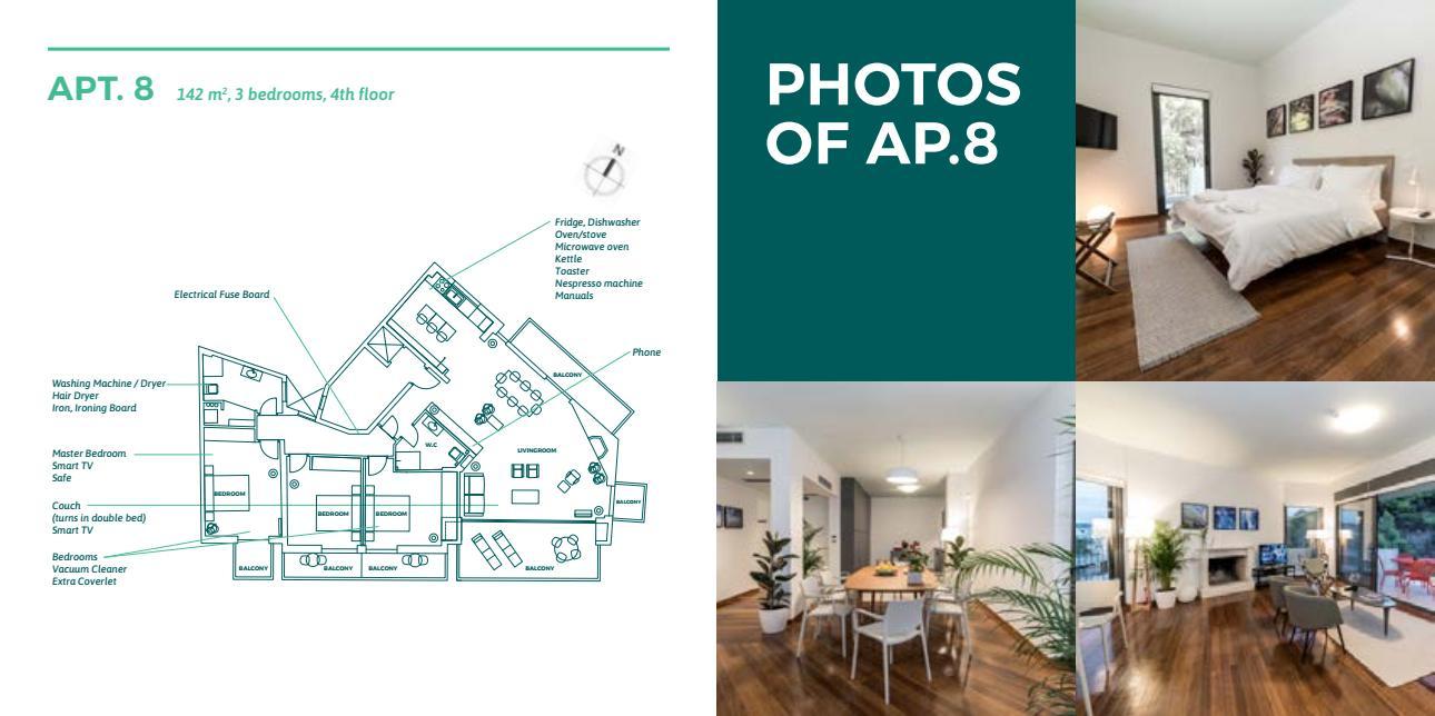 apt8 - Lykabettus Lüks Apartman