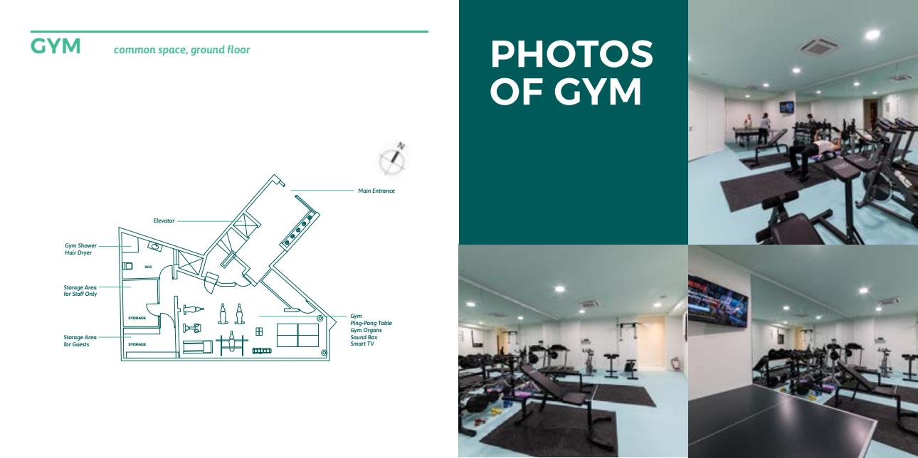 gym - Lykabettus Lüks Apartman