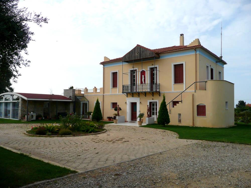 house 3 - Amaliada, Peloponesse'de 500 m2 villa + üzüm bağı