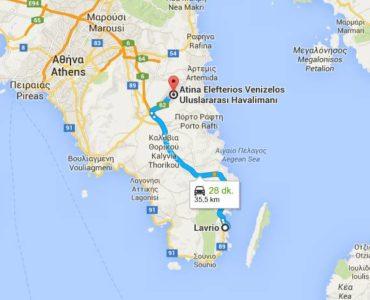 lvr10 harita 370x300 - Lavrio Seaside Residences – Yatırım Fırsatı – 2 bina tamamen satılık