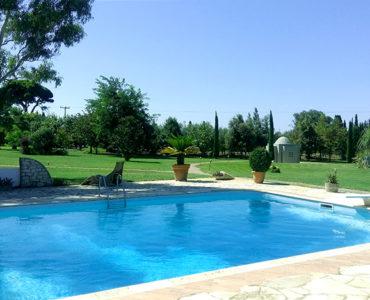 pool 610 370x300 - Amaliada, Peloponesse'de 500 m2 villa + üzüm bağı