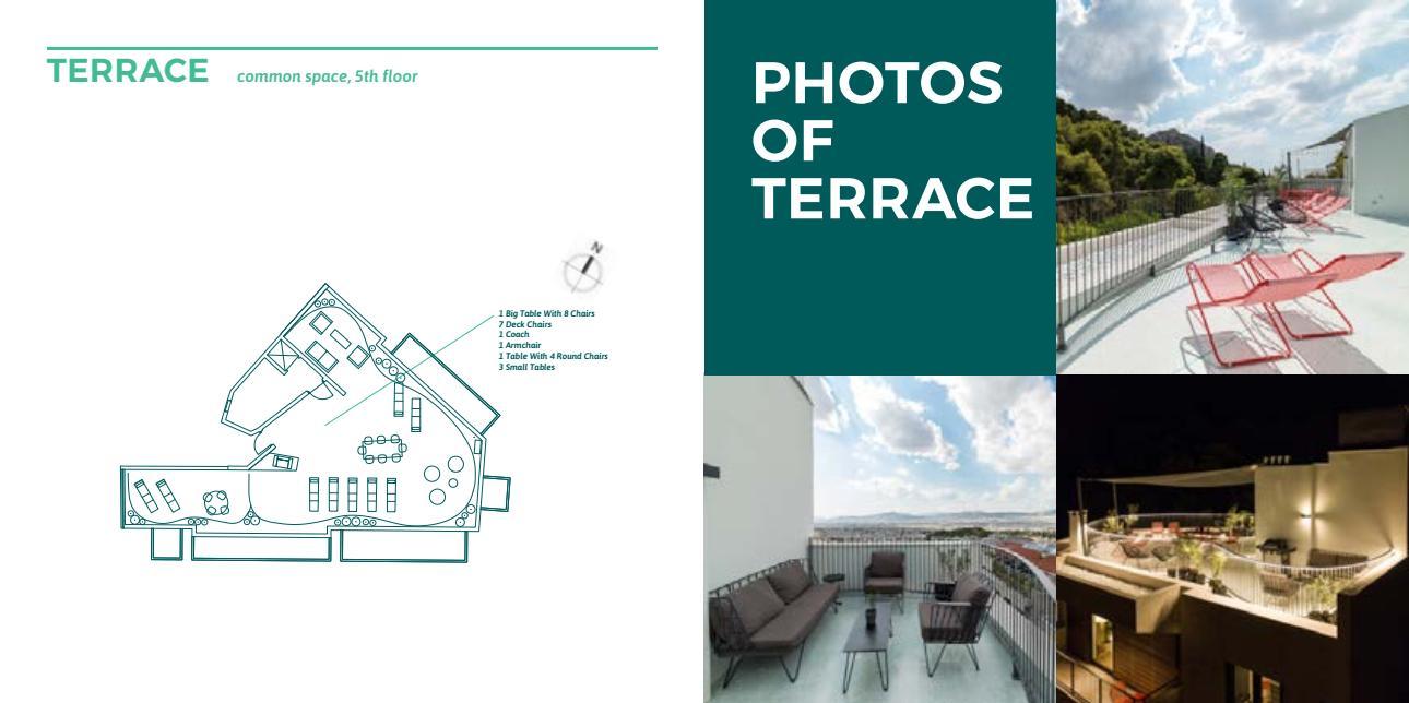 terrace - Lykabettus Lüks Apartman